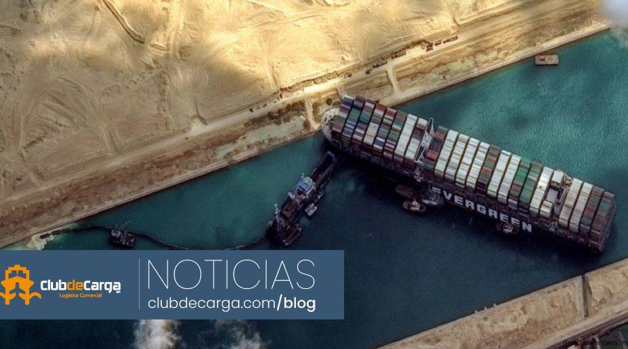 ¡Al fin! Logran desencallar el buque Ever Given en el Canal de Suez
