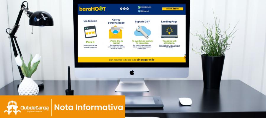 Barahost: Soluciones web para la industria logística